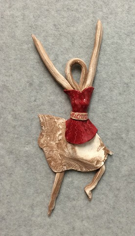 Tiny Dancers-Small Ceramic Sculptures