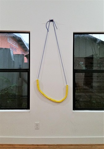 Yellow Hanging Tube
