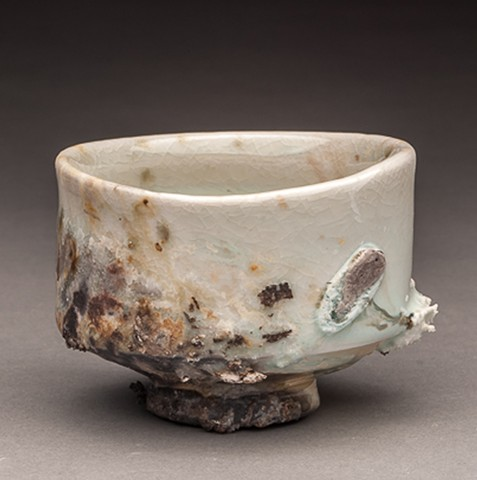 Cone 10 Woodfired Porcelain.