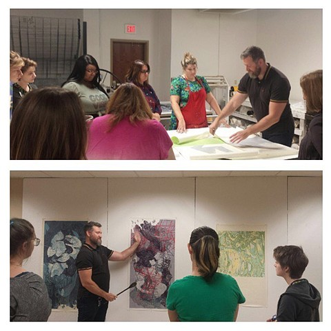 Visiting artist at Louisiana State University