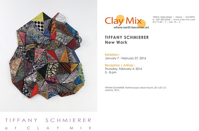 The Clay Mix Gallery Tiffany Schmierer: New Work