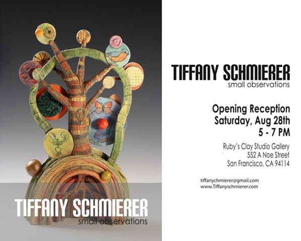 Tiffany Schmierer: Small Observations Ruby Clay Studio Gallery