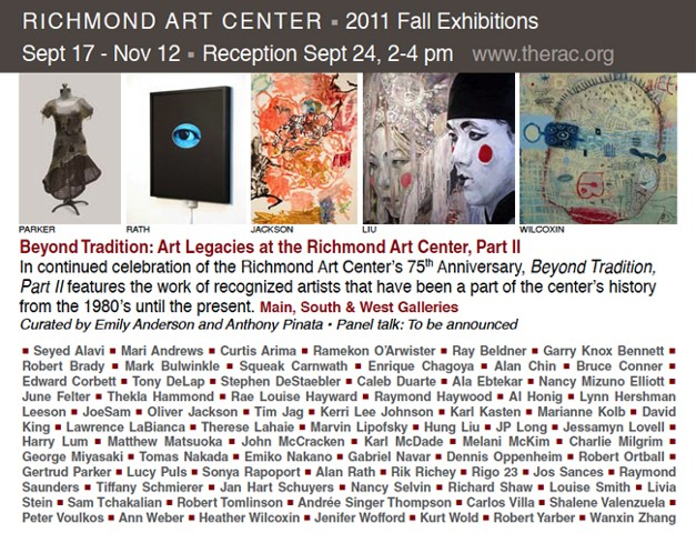 Beyond Traditions: Artist Legacies at the Richmond Art Center Invitational Exhibition