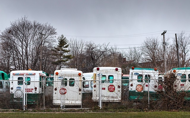 Ice Cream Truck Graveyard