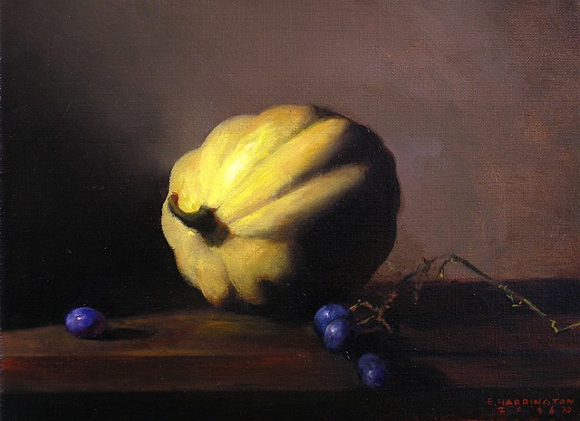 Squash with Grapes