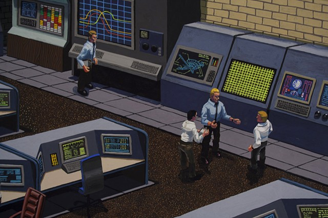 Mission Control, detail 2