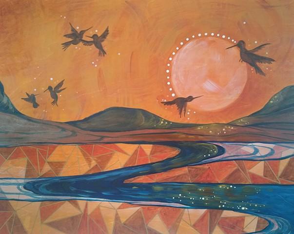 Humingbird Dance