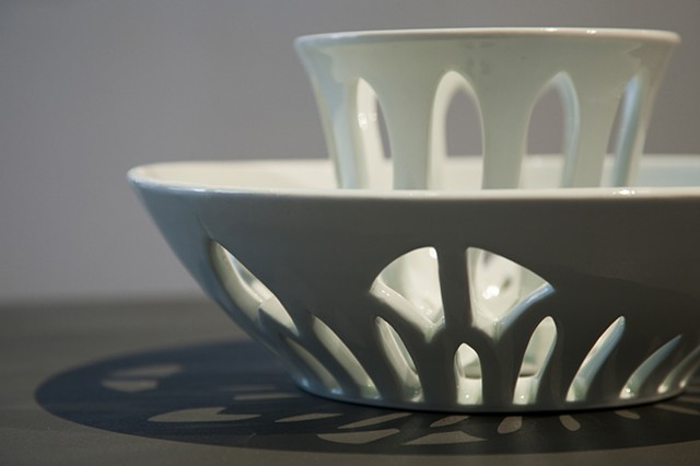 Pierced Bowl Set | Detail
