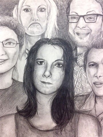 Portrait Multiples | Graphite