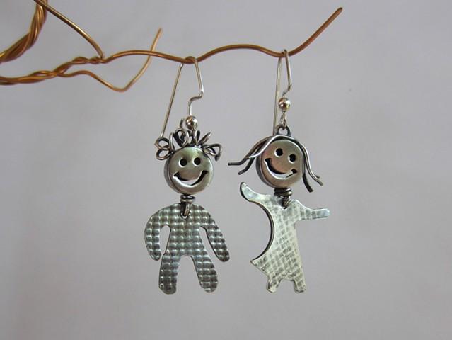 Happy Children earrings