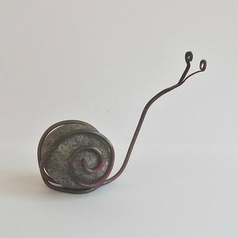 River Rock Snail #8