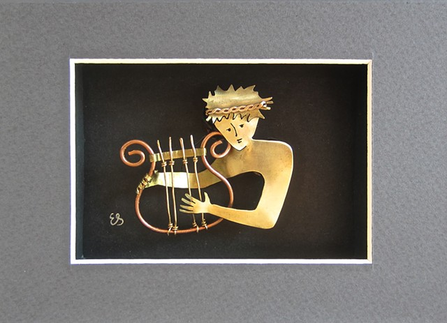 David with Harp