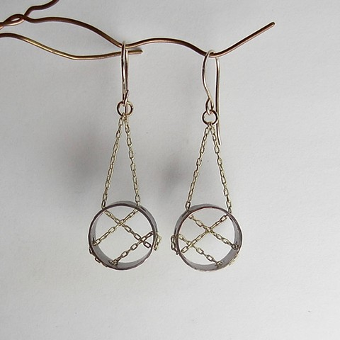 Strung Through earrings