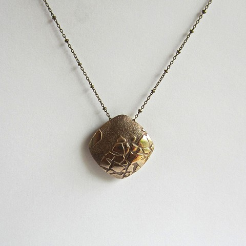 Shattered Gold necklace