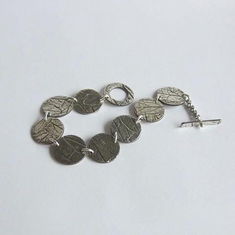 Leafy Silver bracelet