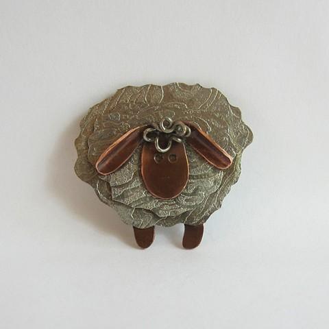 Sheep #3 pin