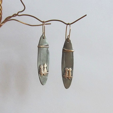On the Swing earrings