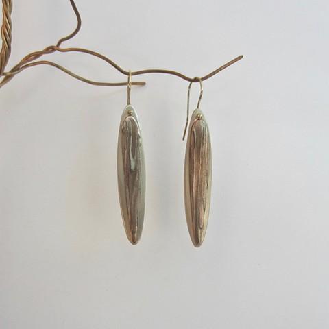Woodgrain Long earrings