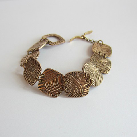 Textured Squares bracelet