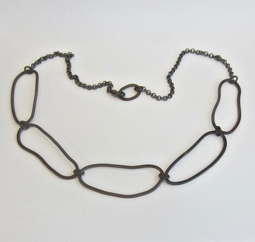 Pebble Shapes necklace