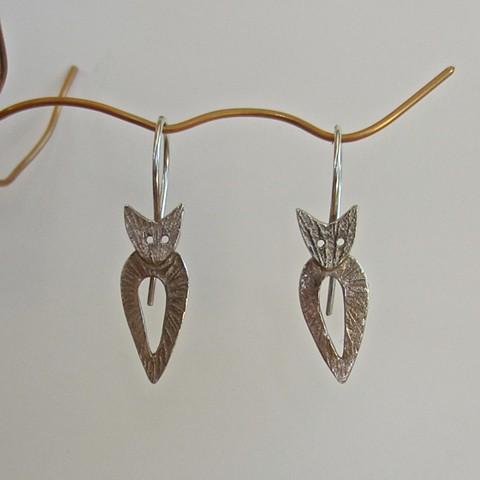 Small Cat earrings