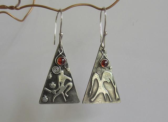 Matisse Monkeys earrings