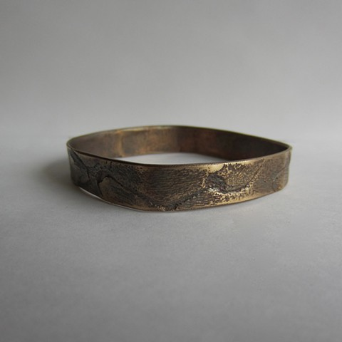 Cracked Bronze bracelet