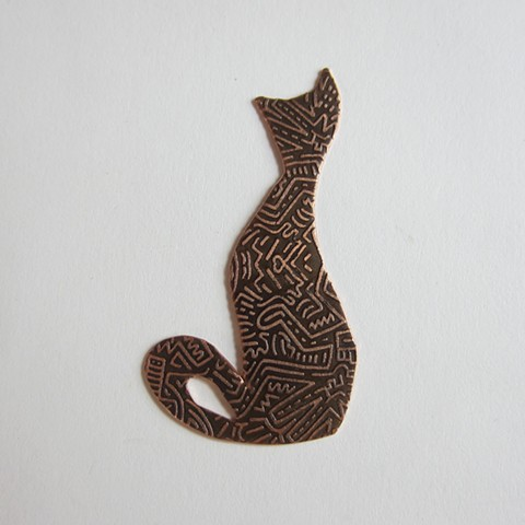 Etched Cat