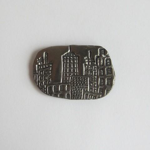 Steel City magnet
