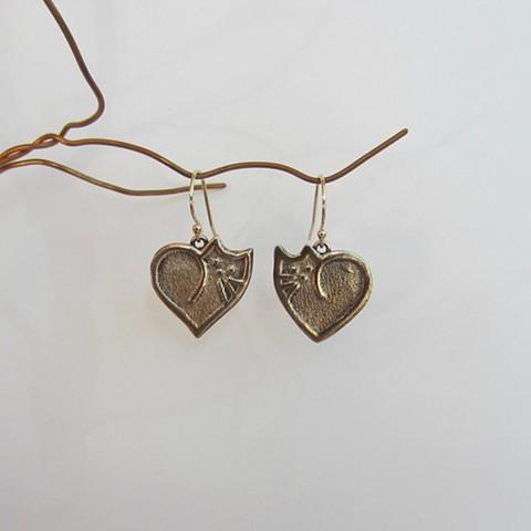 Cat Love earrings