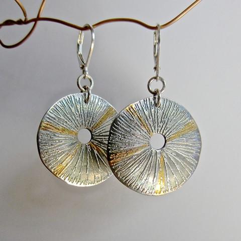 Keum Boo Sea Urchin earrings