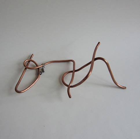 Laying Down Wire Figure