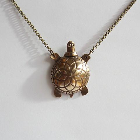 Bonze Turtle whistle