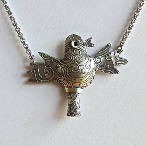 Silver Bird whistle