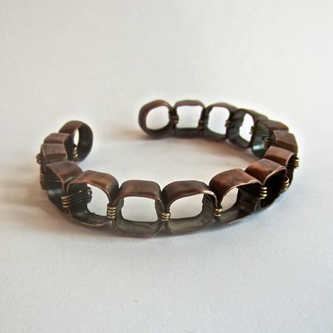 Soft Squares bracelet