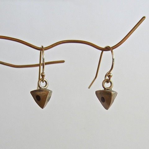 Buckwheat earrings