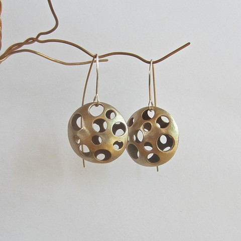 Holey Lentils earrings