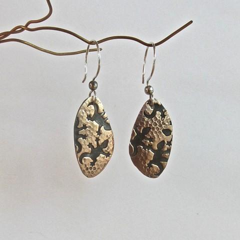 Black Lizards earrings