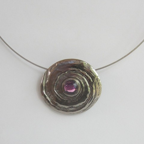 Silver Hurricane necklace