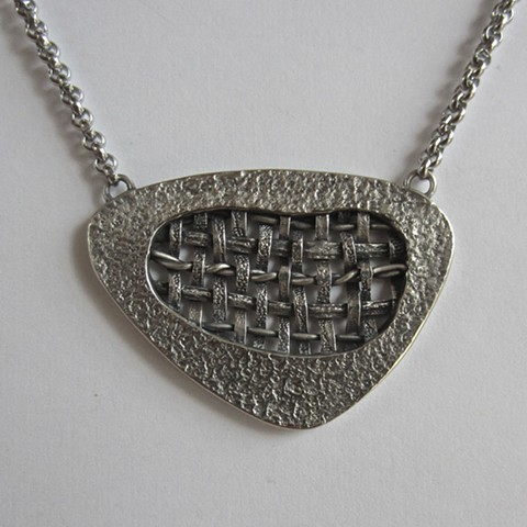 Open Weave necklace