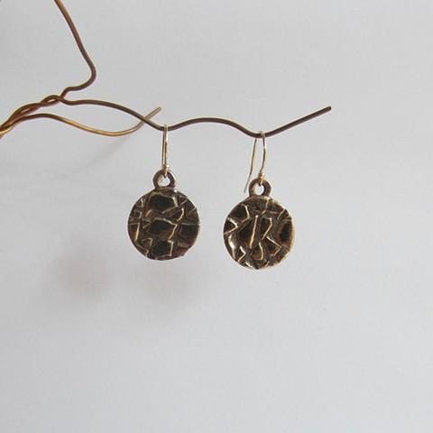 Round Desert earrings