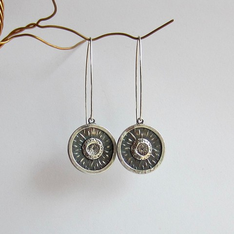 Layered Circles earrings