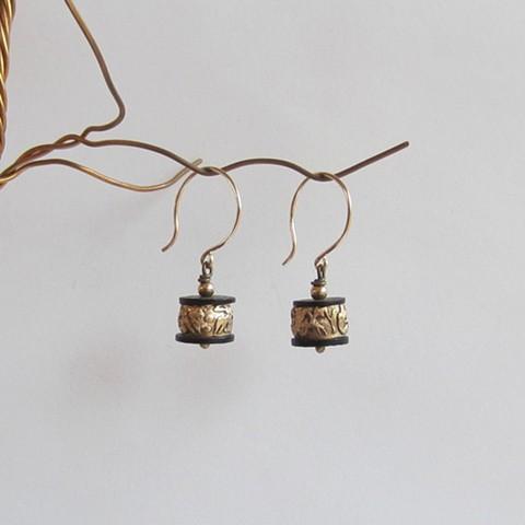 Little Barrels earrings
