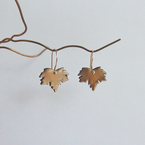 Little Maple Leaves earrings