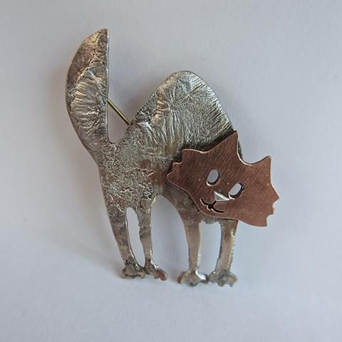 Cat pin #1