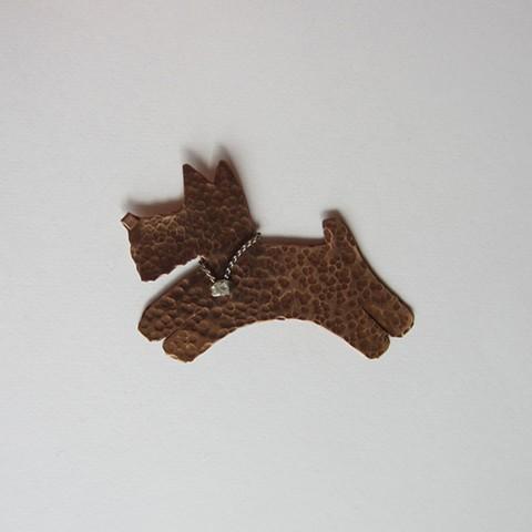 Fox Terrier pin