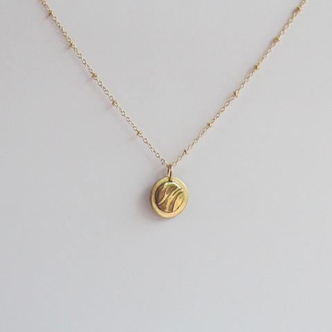 Tricolor Circle necklace