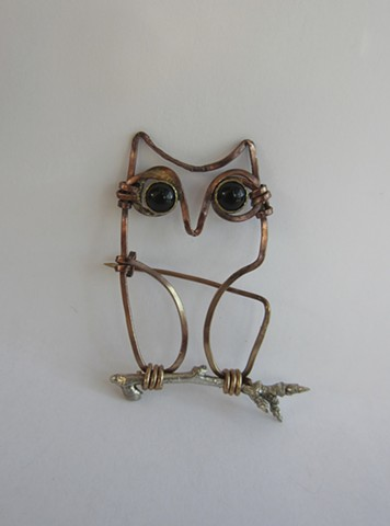 Owl wire pin