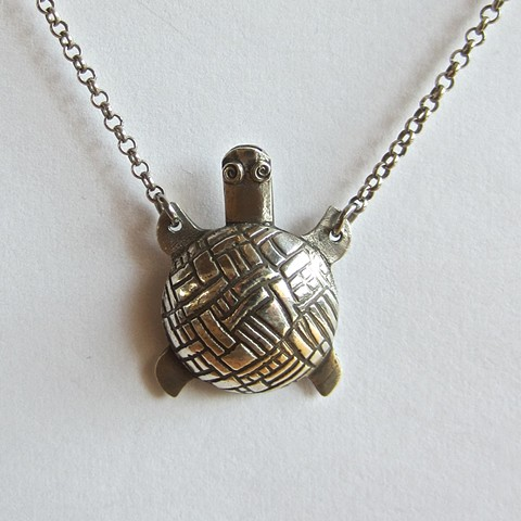 Silver Turtle whistle