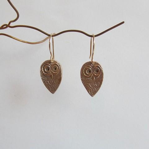 Small Owls earrings